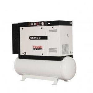 Винтовой компрессор Tecom CS 140 D 12,5 Компрессорное оборудование в Шымкенте